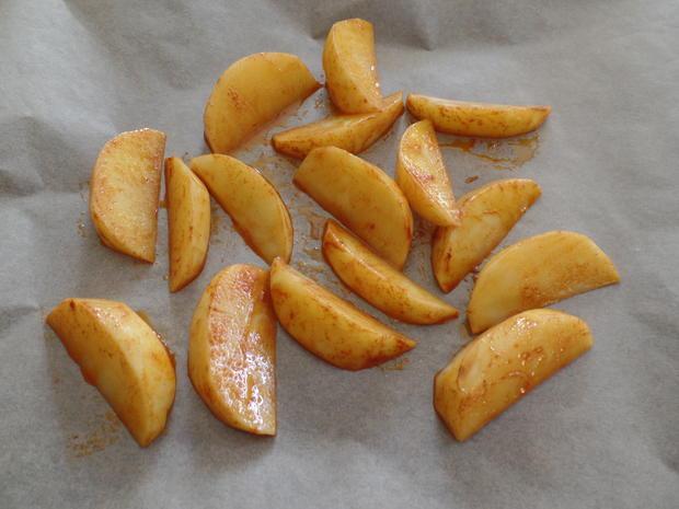 Tatarfrikadellen mit Kartoffelecken - Rezept - Bild Nr. 3833