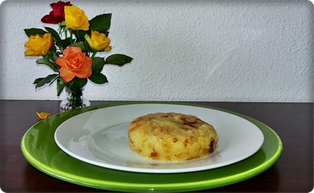 Zander auf Kartoffelbett mit Rotezwiebelmarmelade & Rucola-Pesto - Rezept - Bild Nr. 3839
