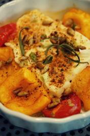Rucola-Salat mit Aprikosen-Dressing und gebackenem Schafskäse - Rezept - Bild Nr. 3870