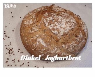Rezept: BiNe` S DINKEL - JOGHURTBROT