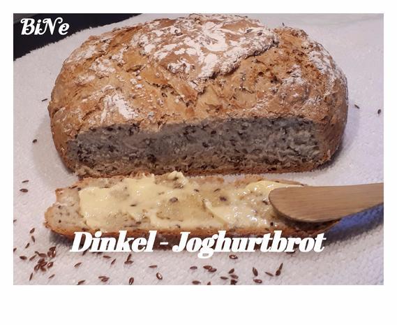 BiNe` S DINKEL - JOGHURTBROT - Rezept - Bild Nr. 3829