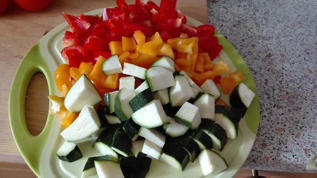 Gemüse - Pfanne - Rezept - Bild Nr. 3826