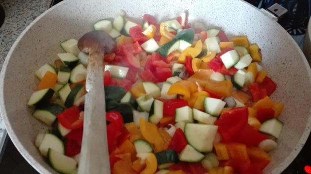 Gemüse - Pfanne - Rezept - Bild Nr. 3827