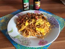 Mie Goreng Nudeln mit Chili und Gemüsemix - Rezept - Bild Nr. 3845