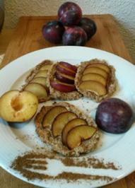 Süsse Mini Griess Pflaumen Pancakes - Rezept - Bild Nr. 3851