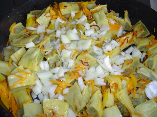 Maultaschen N.r. 2 schnelle Küche - Rezept - Bild Nr. 3853