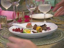 Rote-Beete-Avocado-Salat / Marokkanische Hackbällchen / Feta-Praline - Rezept - Bild Nr. 2