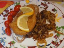 Wiener-Schnitzel vom Schwein mit Röstzwiebeln - Rezept - Bild Nr. 2