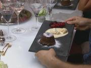 Moelleux au chocolat & weißes Kaffeeeis - Rezept - Bild Nr. 2