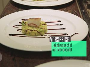 Jakobsmuschel auf Mangosalat - Rezept - Bild Nr. 2