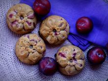 Herbstliche Pflaumen-Muffins - Rezept - Bild Nr. 2