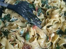 Spinat-Pasta Alfredo - Rezept - Bild Nr. 3870
