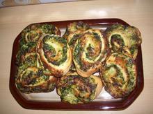 Spinat-Schnecken - Rezept - Bild Nr. 3872