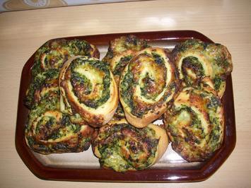 Rezept: Spinat-Schnecken