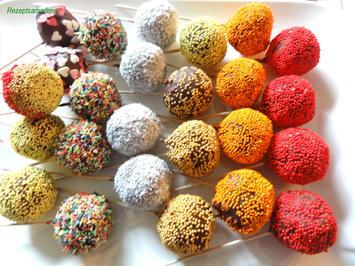 Rührteig:  CAKE ~ POPS, bunt und saftig - Rezept - Bild Nr. 3877