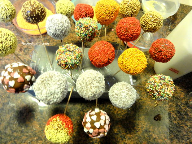 Rührteig:  CAKE ~ POPS, bunt und saftig - Rezept - Bild Nr. 3878