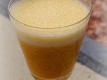 Getränk; Herbstlicher Kürbismus-Smoothie - Rezept - Bild Nr. 2