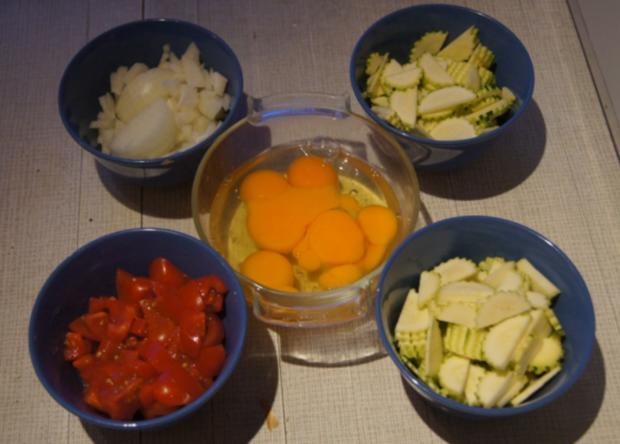 Zucchini-Omelett II - Rezept - Bild Nr. 3912