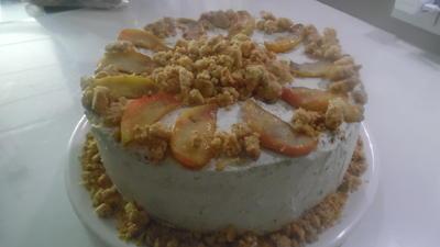 Apfel-Mascarpone-Torte - Rezept - Bild Nr. 3912