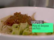 Vollkorn-Penne mit Pesto & Bolognese - Rezept - Bild Nr. 2