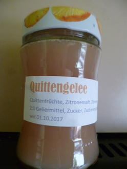 Quittengelee mit Zitrone - Rezept - Bild Nr. 3918
