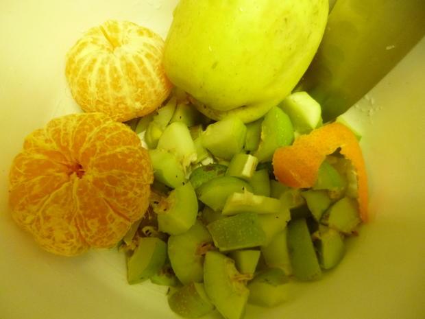 Quittenmus mit Apfel und Mandarine - Rezept - Bild Nr. 3918