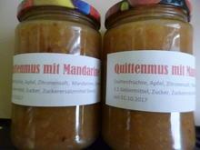 Quittenmus mit Apfel und Mandarine - Rezept - Bild Nr. 3921