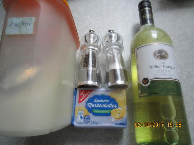 Gebratener Zander auf Lauch-Orangenbett - Rezept - Bild Nr. 3921