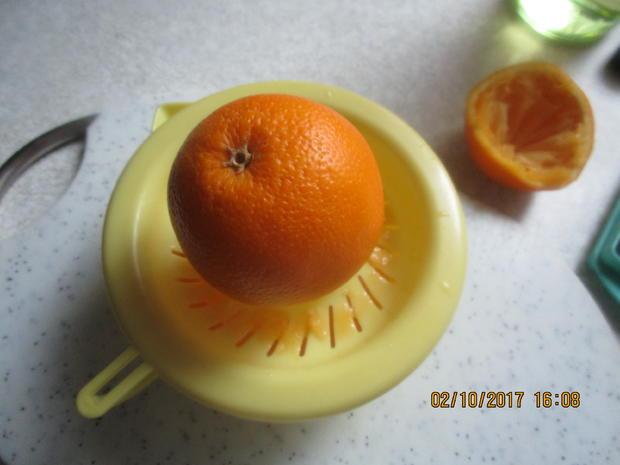 Gebratener Zander auf Lauch-Orangenbett - Rezept - Bild Nr. 3922