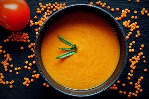 Tomaten-Linsen-Curry-Suppe - Rezept - Bild Nr. 4188