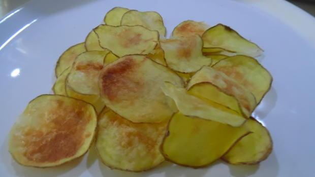 Kartoffelchips aus der Mikrowelle - Rezept - Bild Nr. 3938