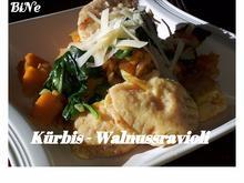 BiNe` S KÜRBIS - WALNUSSRAVIOLI - Rezept - Bild Nr. 3968