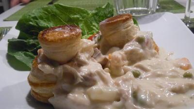 Hühner-Ragout mit Blätterteig-Pastete - Rezept - Bild Nr. 3940