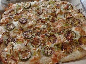 Zucchini-Lauch-Kuchen mit Ziegenkäse - Rezept - Bild Nr. 3977