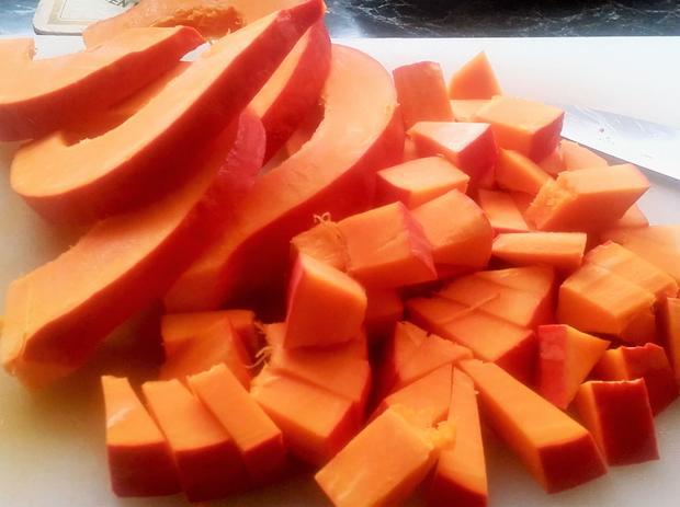 Fruchtige Kürbis - Creme - Suppe - Rezept - Bild Nr. 3981