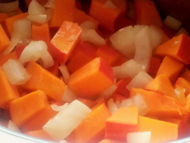 Fruchtige Kürbis - Creme - Suppe - Rezept - Bild Nr. 3982