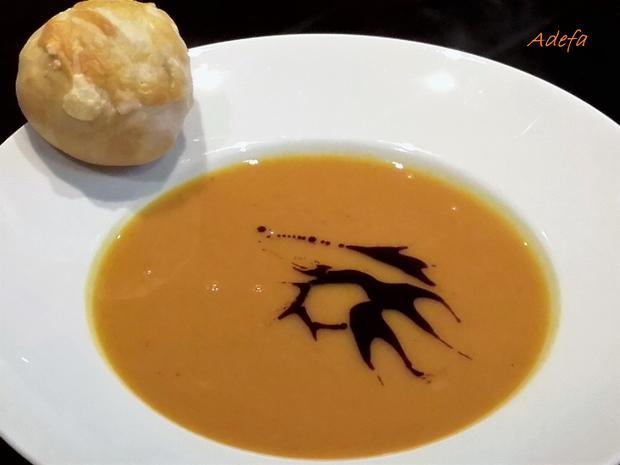 Fruchtige Kürbis - Creme - Suppe - Rezept - Bild Nr. 3990