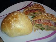 Gefüllte Burger-Brötchen - Rezept - Bild Nr. 4001
