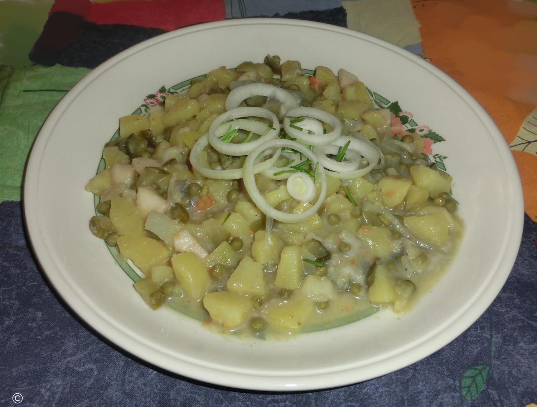 Fischsalat mit kartoffeln