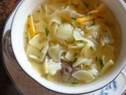 Suppe:   RINDFLEISCH ~ SUPPE  mit Einlage - Rezept - Bild Nr. 4005
