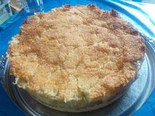 Kuchen - Gedeckter Apfelkuchen .... - Rezept - Bild Nr. 4053