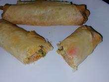 Börek mit Gemüse - Hackfleisch - Füllung - Rezept - Bild Nr. 2