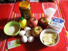 Apfeltorte mit Quark und Gries - Rezept - Bild Nr. 2