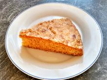 Vanillekuchen mit Mandelknusperkruste - Rezept - Bild Nr. 4155