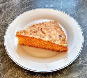 Rezept: Vanillekuchen mit Mandelknusperkruste