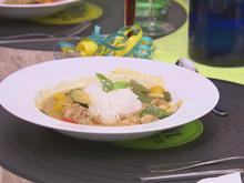 Thailändisches Erdnusscurry mit Jasminreis - Rezept - Bild Nr. 2