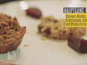 Risotto ai Funghi Porcini, Braciole Napoletana, Pesce spada con patate al forno - Rezept - Bild Nr. 2