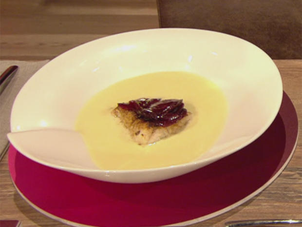 Fenchel-Weißweinsuppe mit Zander (Tanja Szewczenko) - Rezept - Bild Nr. 2