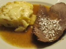 Fleisch: Falsches Filet in Apfel-Zwiebel-Soße - Rezept - Bild Nr. 4262