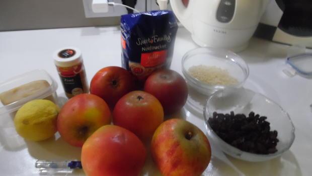 Bratapfel-Marmelade mit Marzipan - Rezept - Bild Nr. 4268